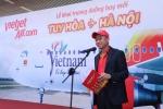 Giam doc dieu hanh Luu Duc Khanh phat bieu