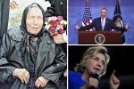 Sức khỏe bà Clinton linh ứng với lời sấm truyền của tiên tri mù Vanga về nước Mỹ?