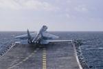 Chiến cơ trên tàu sân bay Kuznetsov của Nga bắt đầu xuất kích sau khi tới Syria