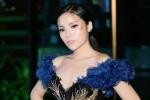 Hoa hậu Kỳ Duyên dát vàng lên mặt, trễ nải khoe vòng một