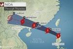 Trung Quốc nâng cảnh báo với bão Nida