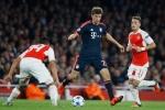 Vòng 1/8 cúp C1: Sấm trời định Arsenal chết dưới tay Bayern