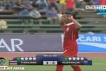 Cầu thủ U16 Thái Lan ăn mừng tục tĩu không thể tha thứ
