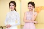 Hoa hậu Đỗ Mỹ Linh, Á hậu Thanh Tú đọ nhan sắc sexy với ren xuyên thấu