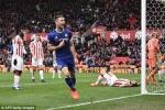 Video kết quả Stoke City vs Chelsea: Cahill giúp Chelsea thoát hiểm phút cuối