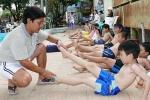 Trẻ em Cần Thơ ráo riết tập bơi để không chết đuối