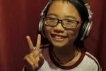 Clip: Hậu trường Mỹ Chi thu âm nhạc phim 'Hai lúa'