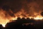 Ảnh: Thiên Tân hoang tàn rợn người sau vụ nổ kép