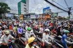 'Thảm họa' tắc đường Việt Nam lên báo nước ngoài