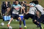 Đánh liều sự nghiệp, Ronaldo điên cuồng tập luyện