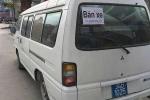 Xe biển xanh được rao bán giữa đường phố Quảng Ninh