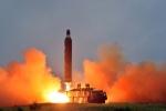 Báo Hàn: Triều Tiên bắn tên lửa về vùng biển phía Đông