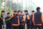 Xuân Trường ở đâu trong ngày Gangwon hụt hơi trước đội bóng hạng 3?