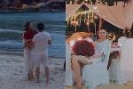 Trợ lý Hồ Ngọc Hà lên tiếng về hình ảnh 'đại gia kim cương cầu hôn trên bãi biển'