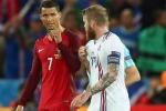 Sự thật clip Ronaldo chảnh chọe từ chối đổi áo với đội trưởng Iceland