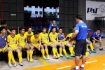 Futsal Sanna Khánh Hòa 'thử lửa' tại Thái Lan
