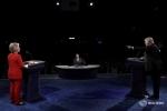 Donald Trump và Hillary Clinton đối đầu nảy lửa trong cuộc tranh luận đầu tiên