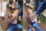Nữ đạo chích giở trò ăn vạ trước cổng bệnh viện Bạch Mai
