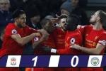 Thắng Man City, Liverpool tiếp tục bám đuổi Chelsea