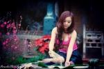 Hot girl ĐH Nội vụ xinh đẹp trong bộ ảnh đón Xuân