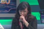BTV Vân Anh nghẹn ngào khóc khi quyết định rời VTV sau 20 năm