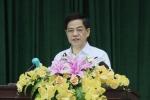 Thiếu tướng Đoàn Duy Khương phát biểu tại hội nghị. Ảnh: Trường Phong