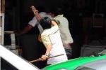 Tài xế taxi Mai Linh bị đồng nghiệp kéo tới nhà chém gục