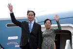 Chủ tịch nước lên đường thăm chính thức Belarus và Liên Bang Nga