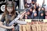 Ghê sợ cảnh nữ chiến binh nhí 12 tuổi của IS nã đạn hành quyết các nữ tù nhân