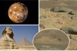 Sửng sốt phát hiện tượng Nhân sư dài 61m trên sao Hỏa