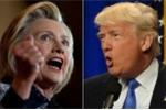 Mỹ 'nín thở' chờ đợi Hilary Clinton và Donald Trump 'đấu khẩu'