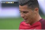 Bướm đêm đậu lên mặt Ronaldo, phá đám chung kết Euro 2016