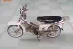 Ngỡ ngàng Honda Dream II làm từ 'giấy vụn' tại Việt Nam