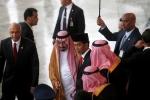 Phái đoàn Ả Rập Xê út mang bút vàng, nhẫn kim cương sang Indonesia làm quà
