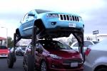 Xuất hiện mẫu xe 'chấp' mọi thể loại tắc đường
