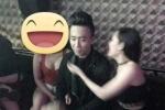 Trấn Thành lộ ảnh trong quán karaoke bên 2 chân dài hở bạo