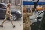 Bức xúc vì lộ cảnh nóng, nữ diễn viên đập nát xe nhà sản xuất