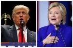 'Cân đo' Trump và Hillary trước cuộc 'đấu khẩu' đầu tiên