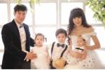Nhìn loạt ảnh này không thể tin vợ Lý Hải mới 31 tuổi đã có 4 con