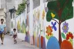 Ảnh: Độc đáo con đường bích họa đẹp như mơ ở Hà Nội