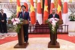 Việt - Nhật song hành, tăng cường hợp tác, tạo đà tăng trưởng, vì thịnh vượng chung