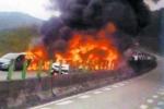 Mất phanh, xe tải gây tai nạn liên hoàn thảm khốc trên cao tốc Trung Quốc