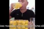 Video: Chàng trai tu ừng ực 50 quả trứng sống gây sốc