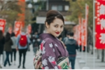 Thích thú với hình ảnh Bảo Anh hóa geisha trên đất Nhật