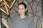 Angelina Jolie gầy gò, chỉ còn 35 kg sau ly hôn Brad Pitt