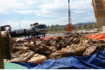 'Đột nhập' khu tập trung chất thải trong nhà máy Formosa