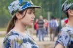 Nữ sinh Trung Quốc xinh đẹp trên thao trường quân sự 'đốn tim' bao chàng trai