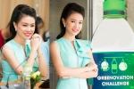 'Cô gái vàng' của Hoa hậu Việt Nam xinh đẹp làm Đại sứ xanh