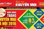 Tuần lễ khởi động tháng khuyến mại Hà Nội 2016 tại MediaMart