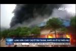 Cháy ngùn ngụt ở chợ cửa khẩu Tân Thanh: Khoảng 1.000m² ki ốt bị thiêu rụi